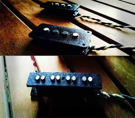 PJ Split Bass Pickup Set