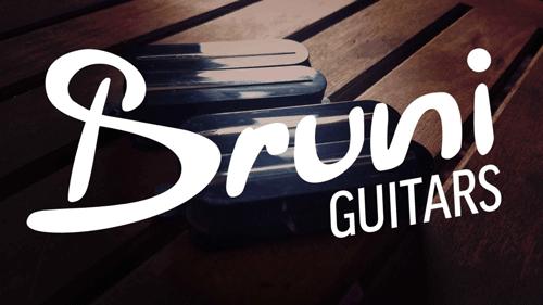 Revel Custom Pickups For Bruni Guitars